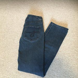 JAG Jeans Mid Rise Stretch Straight Leg Size 4